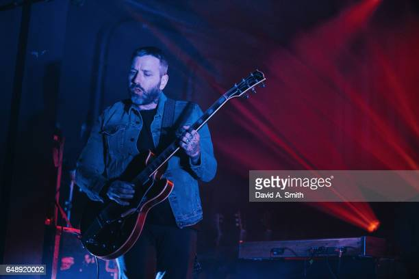 Dallas Green of City and Colour performs at Iron City on March 6 2017 in Birmingham Alabama