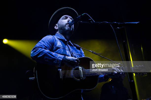 Dallas Green of City and Colour performs at the 2014 Voodoo Music Arts Experience at New Orleans City Park on November 1 2014 in New Orleans Louisiana