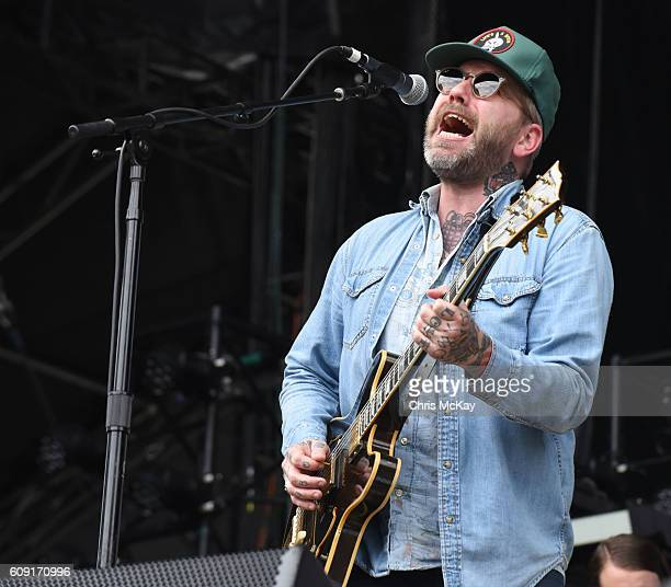 Dallas Green Of City And Colour performs during the Music Midtown Festival at Piedmont Park on September 17 2016 in Atlanta Georgia