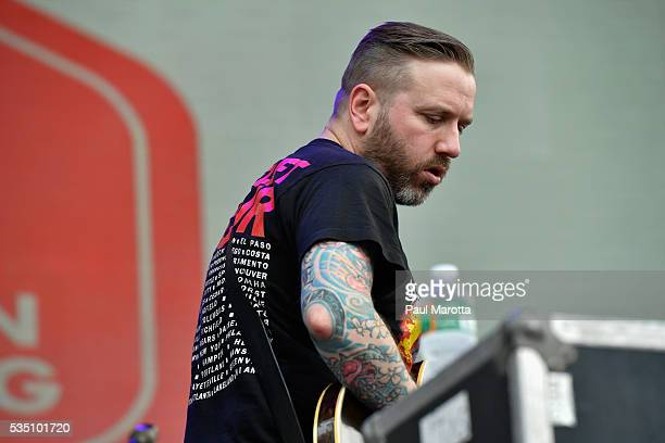 Dallas Green of City and Colour performs on Day 2 of the Boston Calling Festival on Government Center Plaza on May 28 2016 in Boston Massachusetts