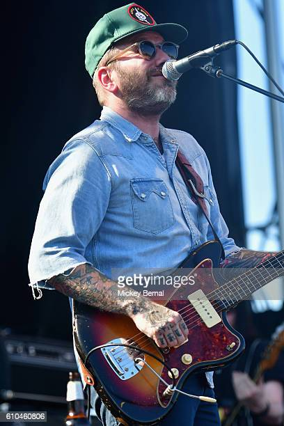 Dallas Green of City and Colour performs onstage at the Pilgrimage Music Cultural Festival Day 2 on September 25 2016 in Franklin Tennessee