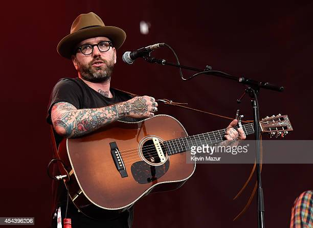 Dallas Green of City Colour performs onstage at the 2014 Budweiser Made In America Festival at Benjamin Franklin Parkway on August 30 2014 in...