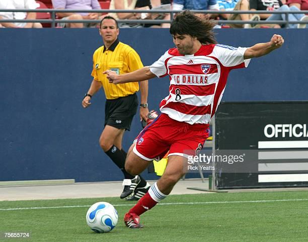 Dallas' Juan Toja midfielder, FC Dallas against Real Salt Lake on May 20, 2007 at Pizza Hut Park in Frisco, TX.