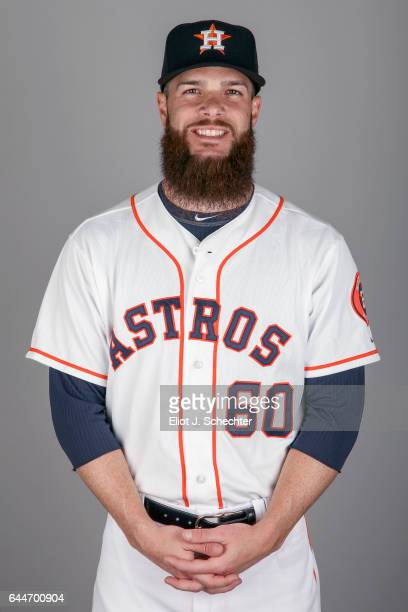Dallas Keuchel of the Houston Astros poses during Photo Day on Sunday February 19 2017 at the Ballpark of the Palm Beaches in West Palm Beach Florida