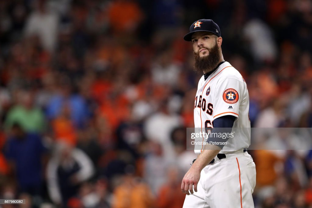 World Series - Los Angeles Dodgers v Houston Astros - Game Five : ニュース写真
