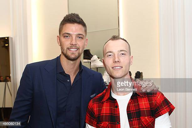 Dallas Maverick Chandler Parsons and DJ SKee attended the Del Toro x Chandler Parsons Launch 2.0 Collection at Saks Fifth Avenue Beverly Hills on...