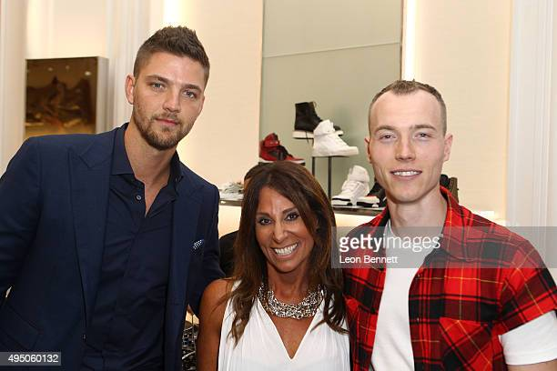 Dallas Maverick Chandler Parsons, Executive Director Beth Moskowitz, and DJ SKee attended the Del Toro x Chandler Parsons Launch 2.0 Collection at...
