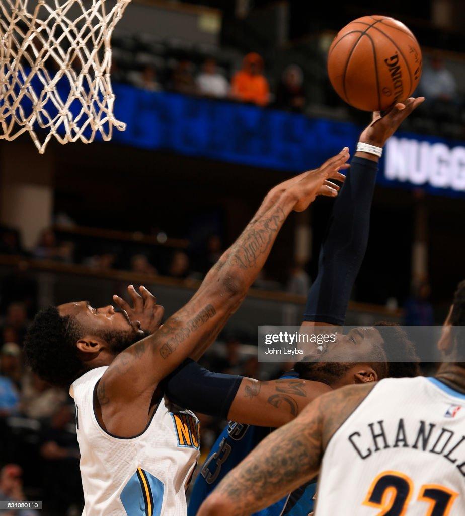 Denver Nuggets X Dallas Mavericks: Dallas Mavericks Guard Wesley Matthews Gets Fouled By