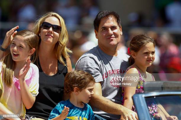 Dallas Mavericks owner Mark Cuban attends the 2014 IPL 500 Festival Parade during the 2014 Indy 500 Festival at on May 24 2014 in Indianapolis Indiana