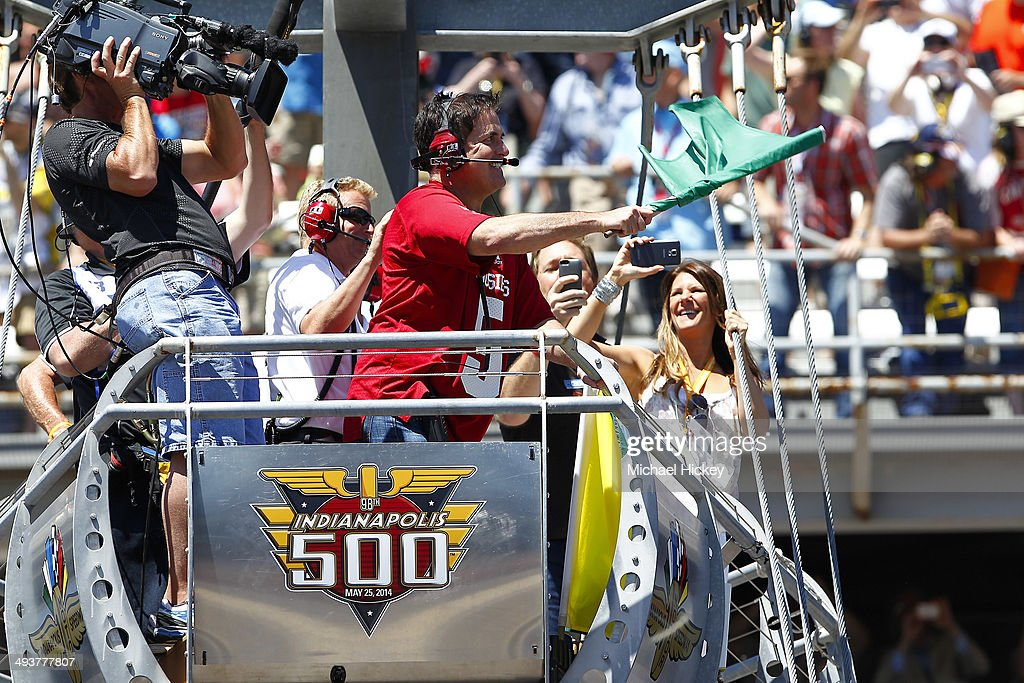 Celebrities Attend Race - 2014 Indy 500 : News Photo
