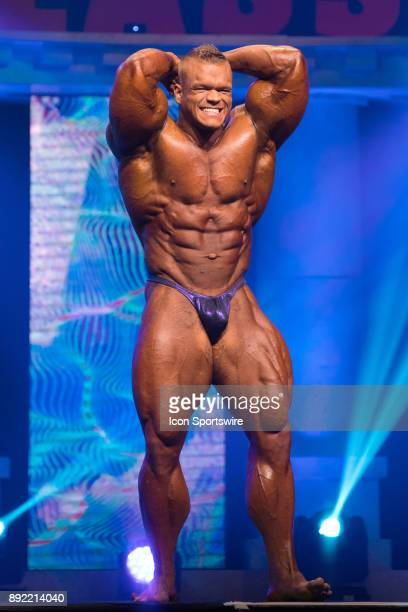 Dallas McCarver competes in the Arnold Classic as part of the Arnold Sports Festival on March 4 at the Greater Columbus Convention Center in Columbus...