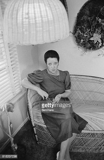 Norma McCorvey sits in her office at the complex she manages In her capacity as manager McCorvey has to speak English some Spanish and some sign...