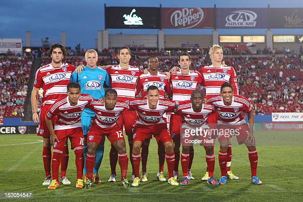 Dallas poses for a portrait before kickoff against the Vancouver Whitecaps FC on September 15 2012 at FC Dallas Stadium in Frisco Texas