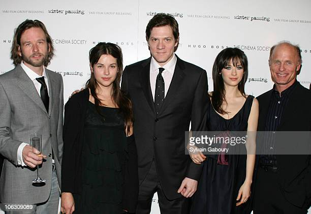 Dallas Roberts Amelia Warner Writer and Director Adam Rapp Zooey Deschanel and Ed Harris