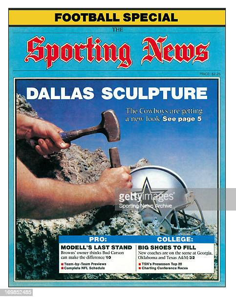 Dallas Cowboys September 1 1989 Dallas Sculpture The Cowboys are getting a new look