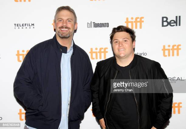 """Dallas Sonnier and Jack Heller attend the """"Brawl in Cell Block 99"""" premiere during the 2017 Toronto International Film Festival at Ryerson Theatre on..."""
