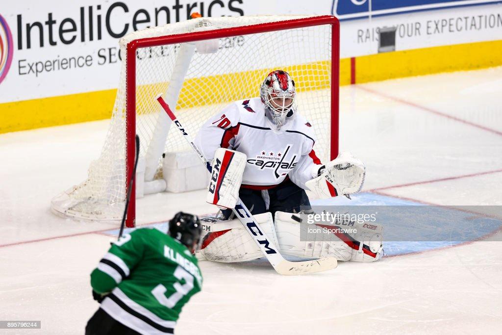 NHL: DEC 19 Capitals at Stars : News Photo