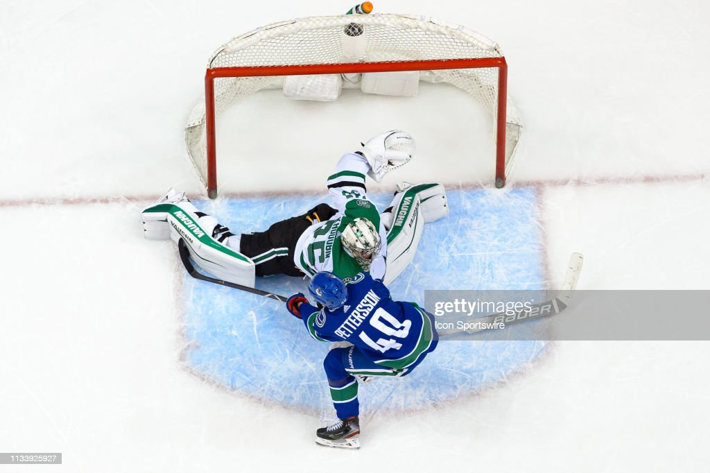 NHL: MAR 30 Stars at Canucks : News Photo