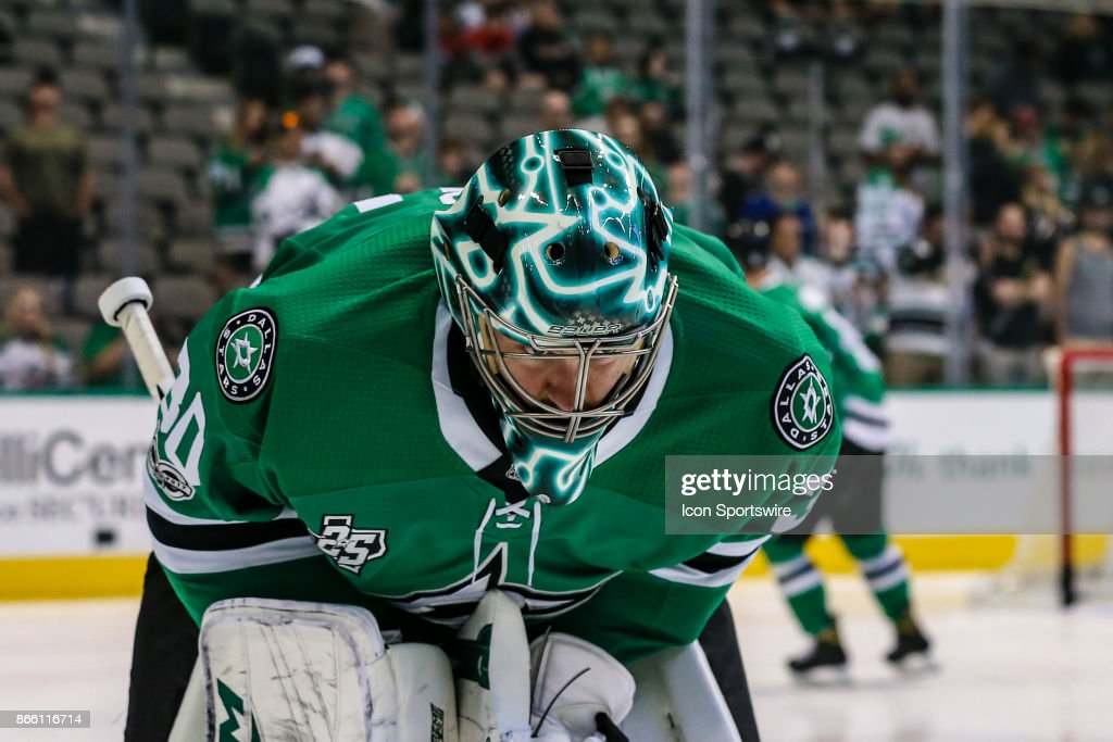 NHL: OCT 21 Hurricanes at Stars : News Photo