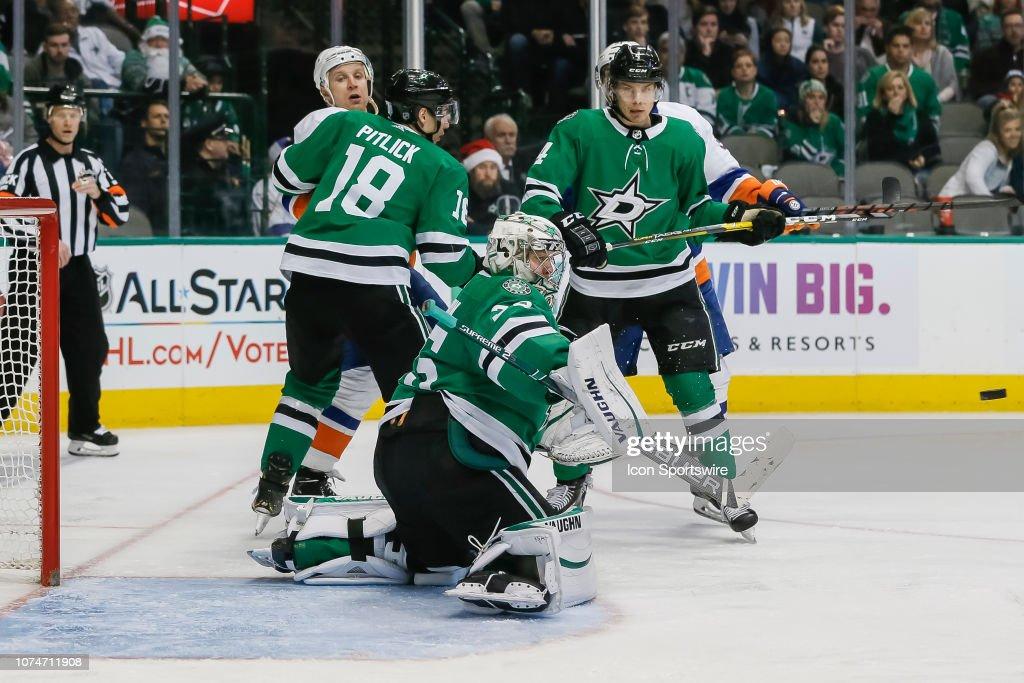 NHL: DEC 23 Islanders at Stars : News Photo