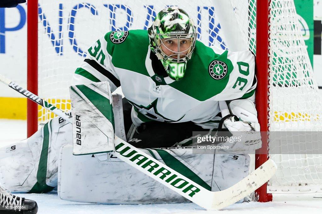 NHL: JAN 08 Stars at Blues : News Photo