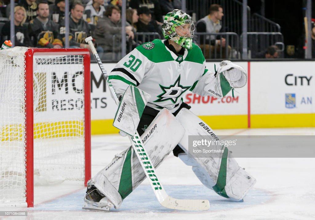 NHL: DEC 09 Stars at Golden Knights : News Photo