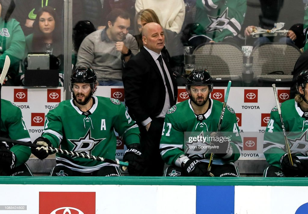 NHL: JAN 15 Lightning at Stars : News Photo