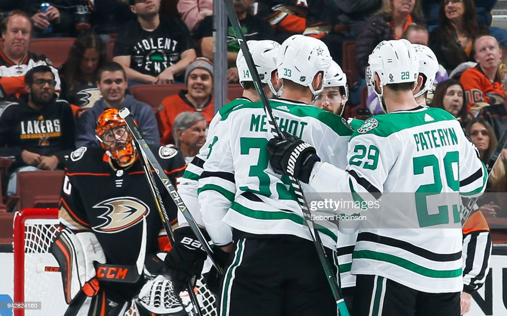Dallas Stars v Anaheim Ducks