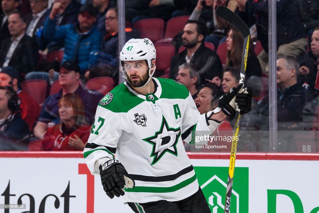 NHL: MAR 13 Stars at Canadiens : News Photo