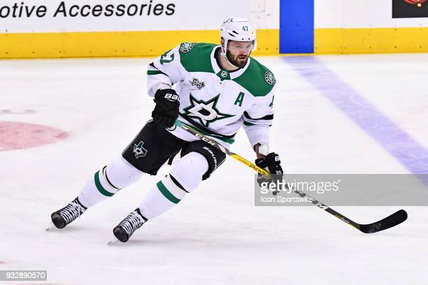 Dallas Stars Right Wing Alexander Radulov in warm ups prior to the regular season NHL game between the Dallas Stars and Toronto Maple Leafs on March...