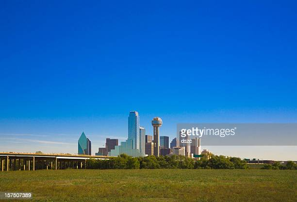 Dallas Texas city skyline panorama cityscape