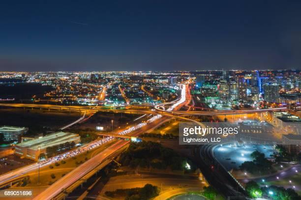 Dallas, Texas Downtown at Night