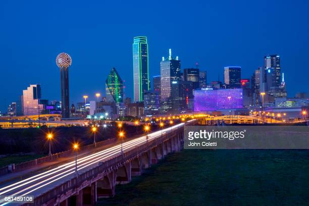 dallas, texas - trinity river texas stock pictures, royalty-free photos & images