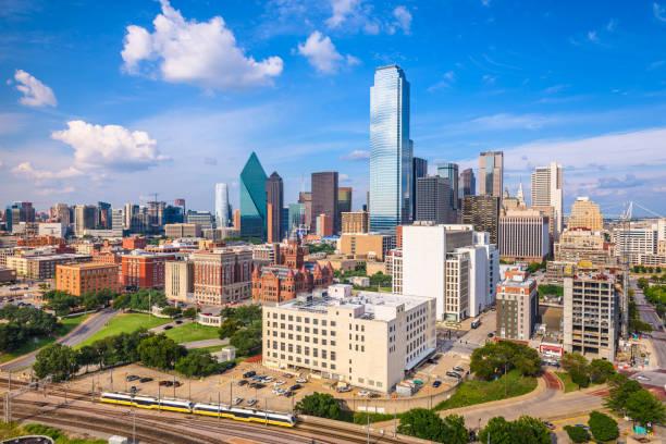Dallas Texas Usa Skyline - Fine Art prints