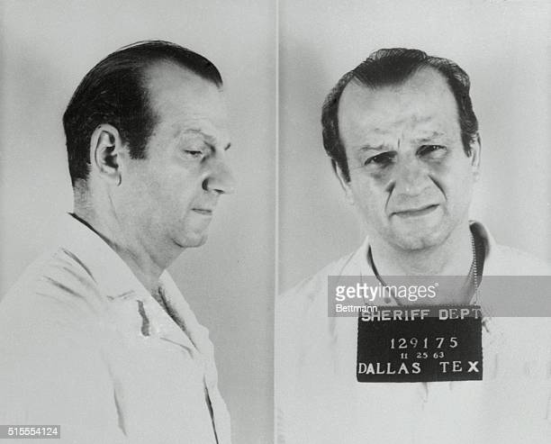 This is the last picture to be made of Dallas nightclub owner Jack Ruby It was taken November 25 1963 as he was booked into Dallas County Jail...