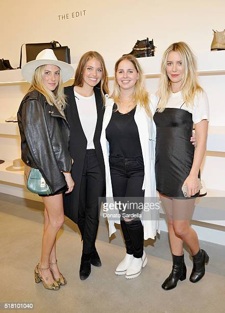 Dallas Wand designer Janessa Leone Amanda Thomas and Cydney Morris attends The Edit by FREDA SALVADOR Janessa Leone opening party at Platform on...