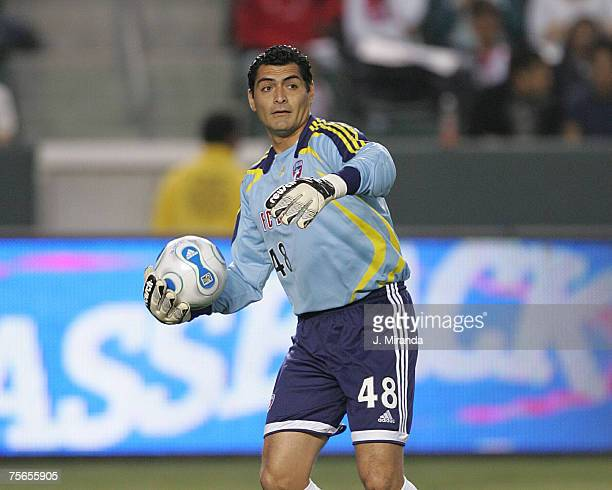 Dallas's goalkeeper Dario Sala against Chivas USA at The Home Depot Center in Carson. California on May 26, 2007.
