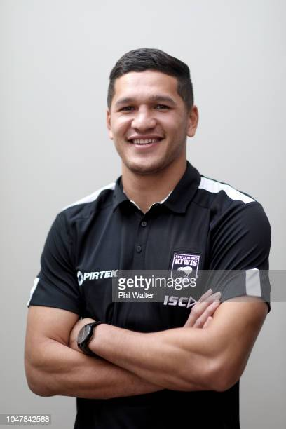 Dallin WateneZelezniak Captain of the NZ Kiwis poses for a portrait during a New Zealand Kiwis press conference at Mt Smart Stadium on October 9 2018...