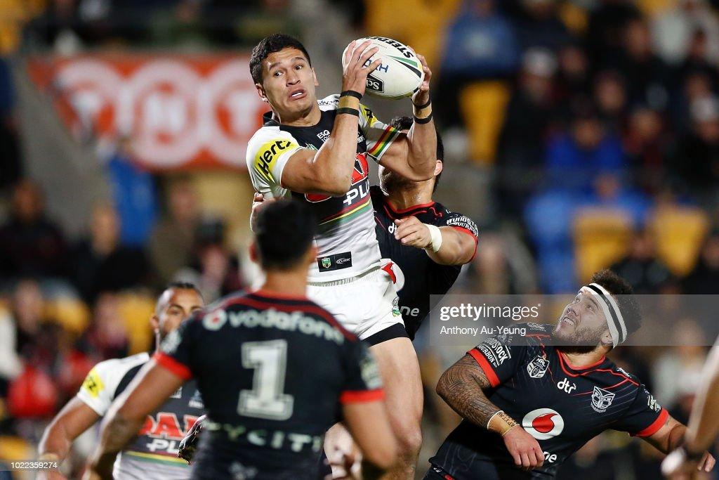 NRL Rd 24 - Warriors v Panthers : News Photo