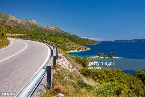 Dalmatia coastal road