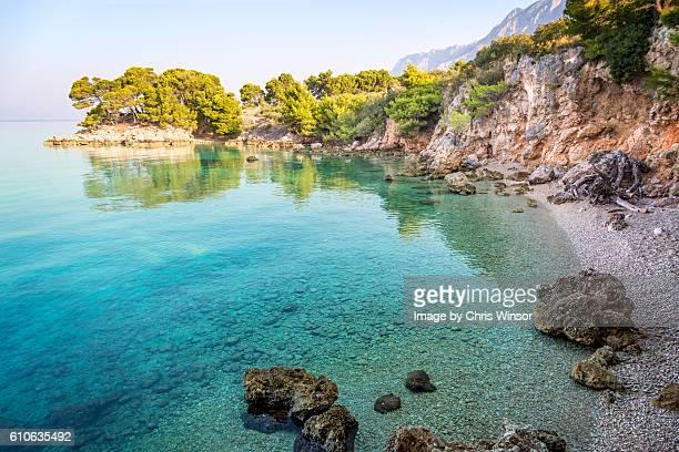 Dalmatian coast beach