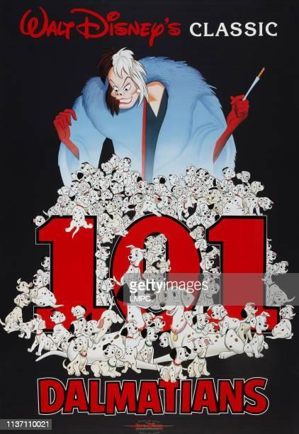101 Dalmatians poster US reissue poster art 1961
