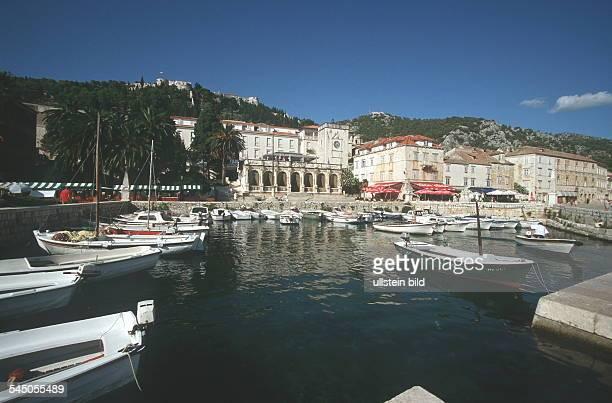 Dalmatien / Insel Hvar: Hafen von Hvar - 1999