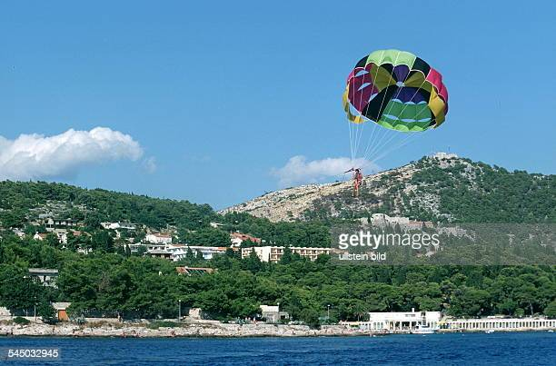 Paraglider vor der Küste 1999