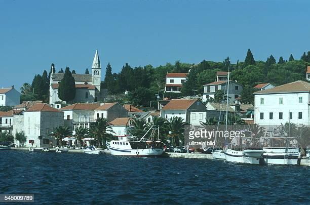 Dalmatien / Rogoznica: Hafen - 1999