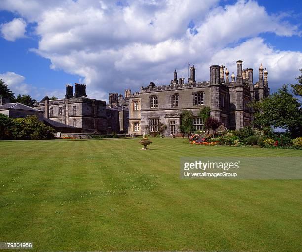Dalmeny House from gardens near Dalmeny Firth of Forth Scotland United Kingdom