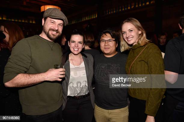 TJ Dalrymple Emily Sandifer Jimmy Nguyen and Jennifer Tocquigny attend Steelhouse and Eternal Front presents Beyond the Front Lines during the 2018...