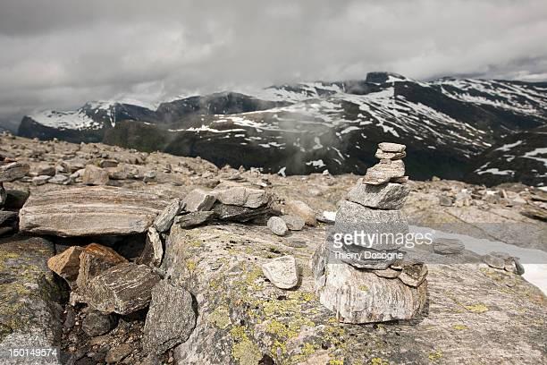 dalsinibba mountains - norway - 石塚 ストックフォトと画像