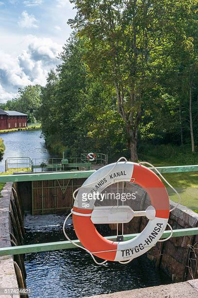 dalsland canal - dalsland stock photos and pictures