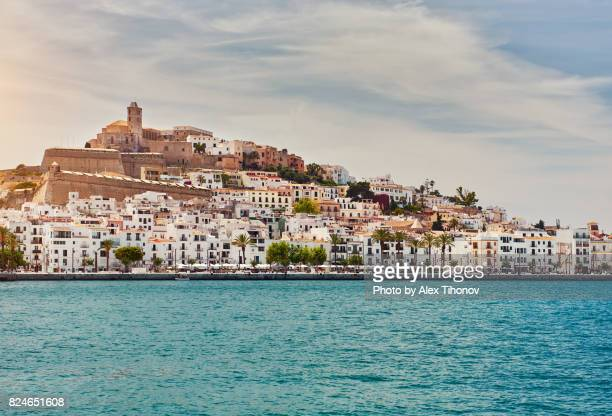 dalt vila of eivissa - ibiza island stock pictures, royalty-free photos & images